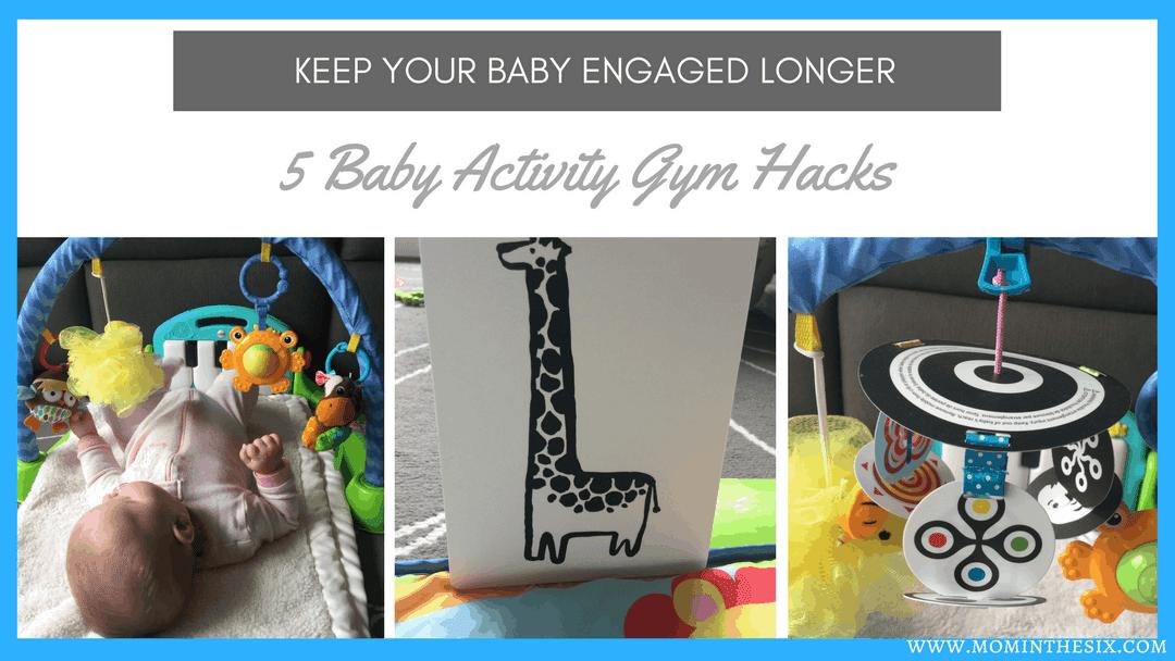 5 Baby Activity Gym Hacks