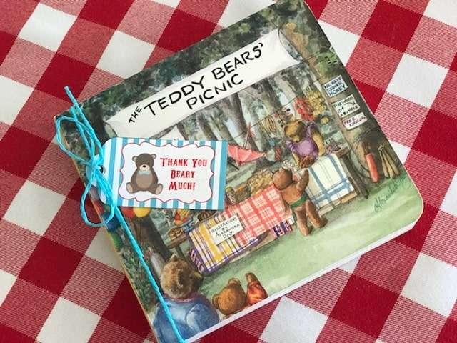 Teddy Bear Picnic Party Favor