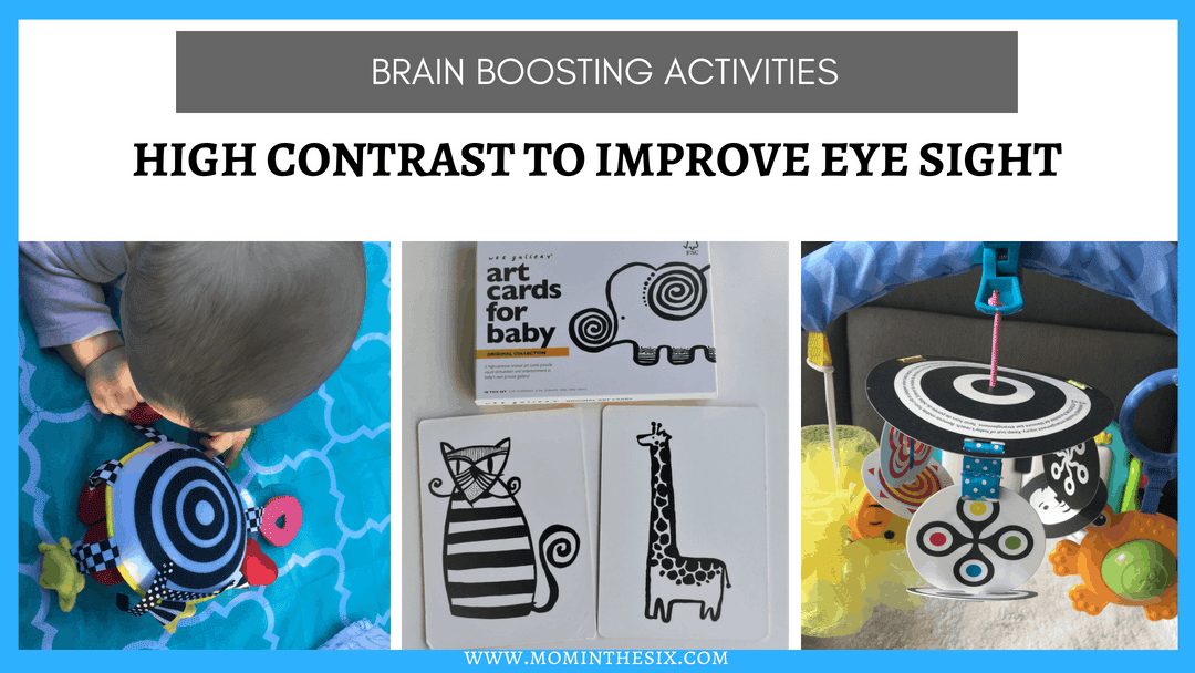 Four Budget Friendly, High Contrast Toys & Activities For Baby