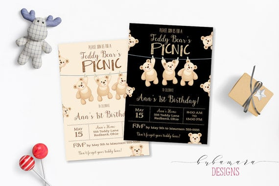 Tips For Throwing A Teddy Bears Picnic 1st Birthday Party