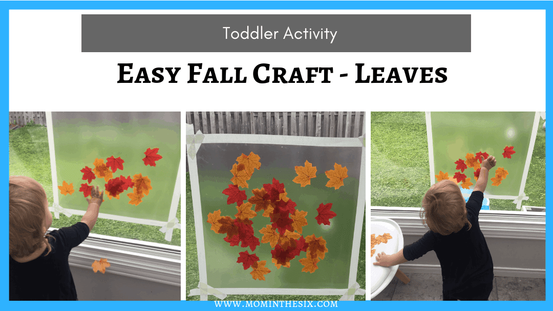 Easy Fall Leaf Craft for Preschoolers and Toddlers