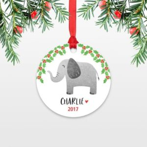 Unique Elephant Ornament