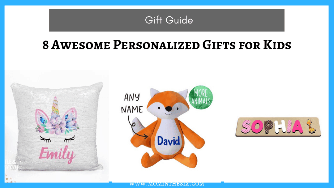 8 Awesome Personalized Gifts for Kids – Christmas Gift Guide