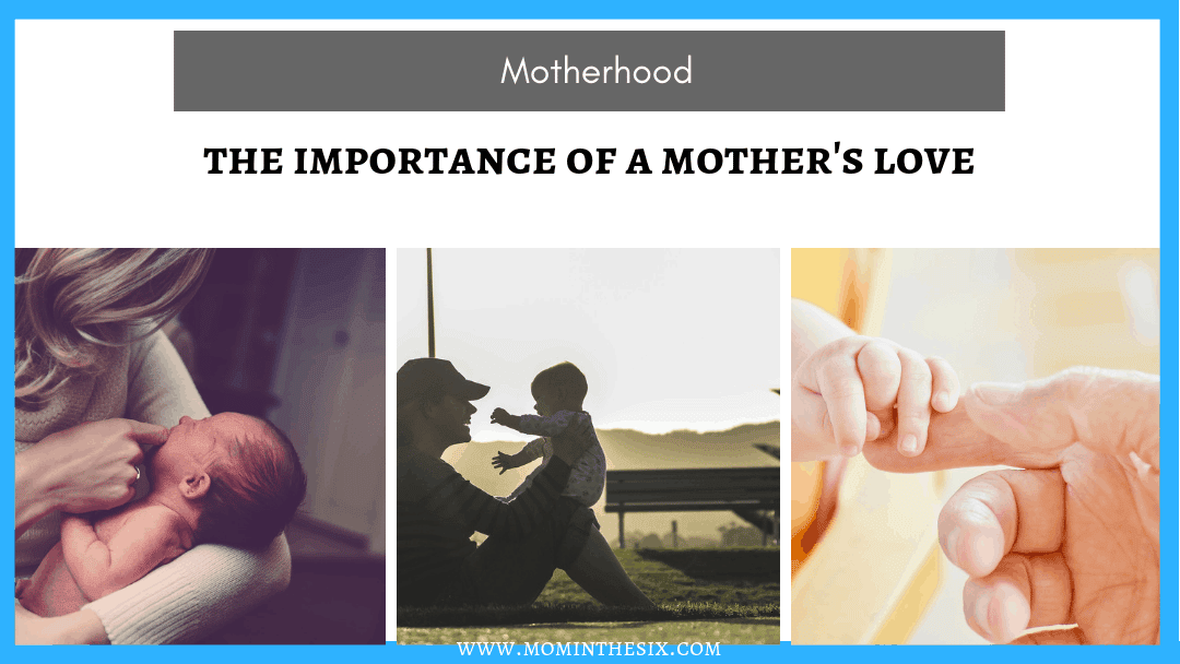 A mother's affection towards her child reduces illness later in life.