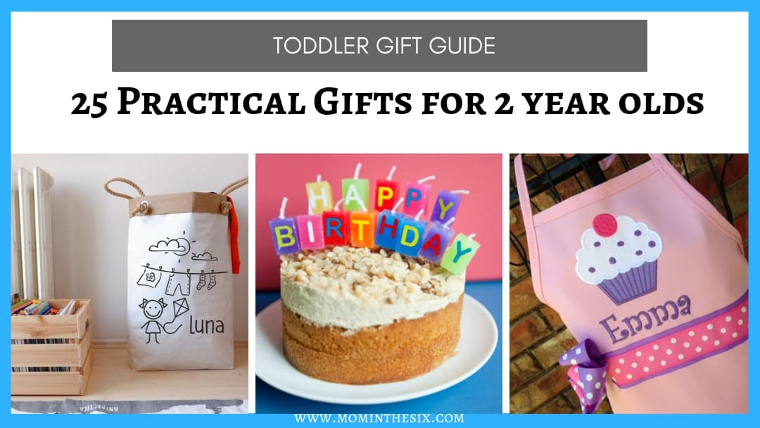 25 Practical Gifts for 2 Year Olds That Aren't Toys (and are actually useful!)