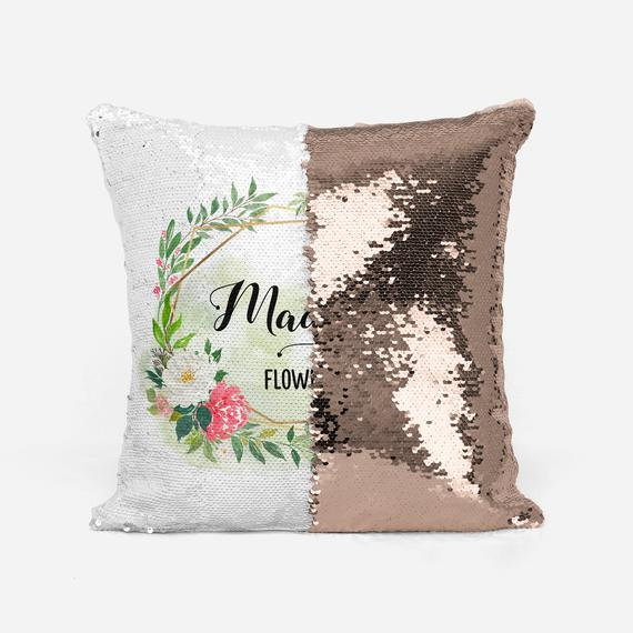 Personalized Reversible Sequin Pillow