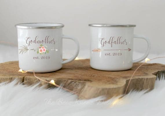 Godparent Mug Set