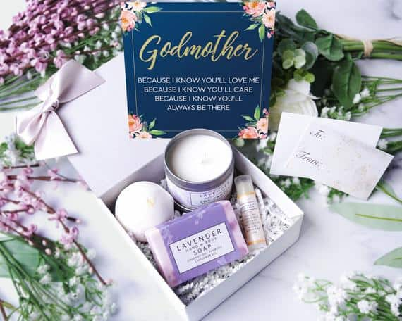 Godmother Gift Boxes - Spa Gift