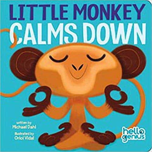 Little Monkey Calms Down (Hello Genius)
