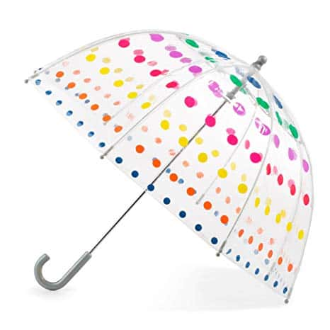 Clear Bubble Umbrella with Easy Grip Handle