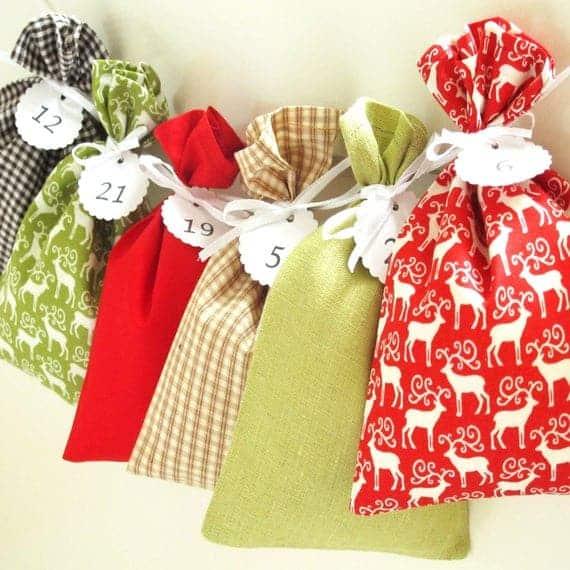 Fabric Advent Calendars