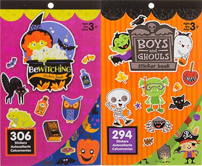 Halloween Sticker Books- 600 Stickers