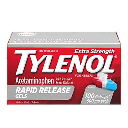 Tylenol & Advil