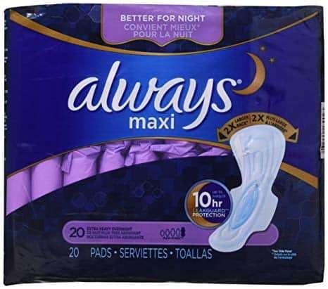 Extra Heavy Overnight Maxi Pads