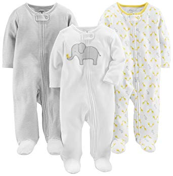Newborn Sleepers With ZIPPERS