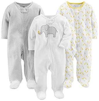 Newborn Sleepers With ZIPPERS