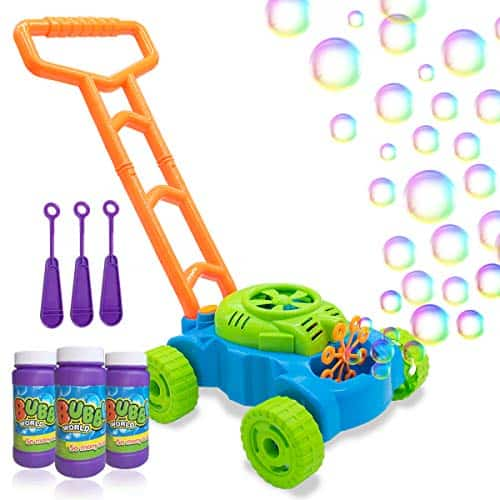 Lydaz Bubble Mower for Toddlers,