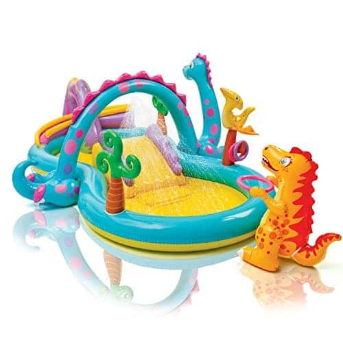Dinoland Inflatable Play Center Pool