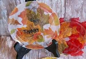 thanksgiving dessert craft