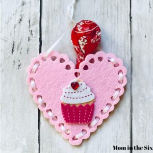 Valentines Day Heart Pouches