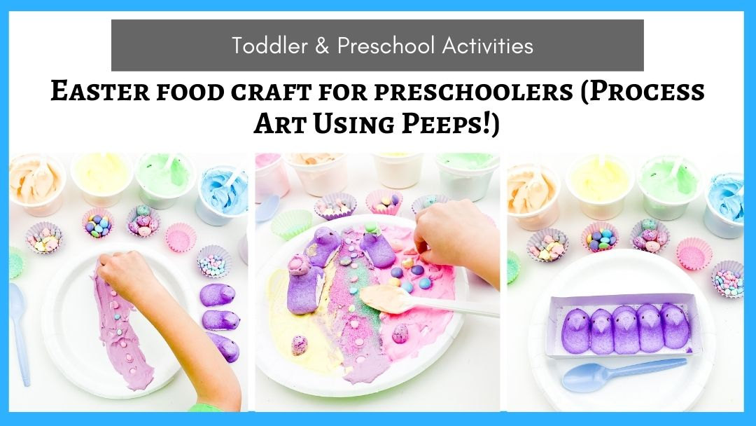 Fun and Simple Easter Food Craft for Preschoolers and Toddlers