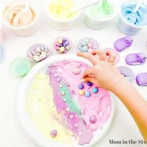 Easter Food Craft For Preschoolers