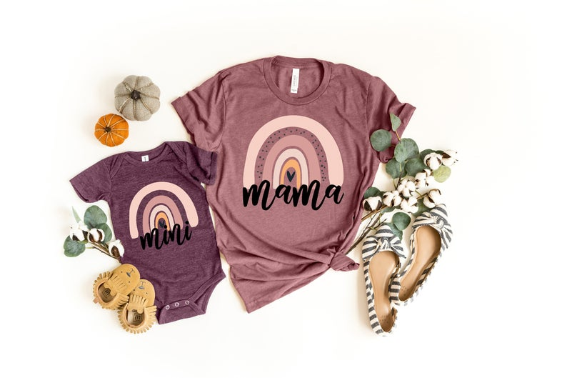 mama and baby outfit