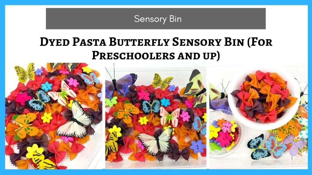Butterfly Sensory Bins