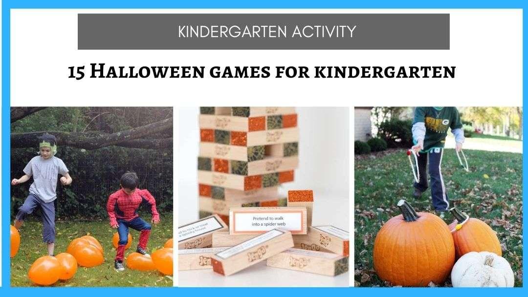 Halloween Games for Kindergarten