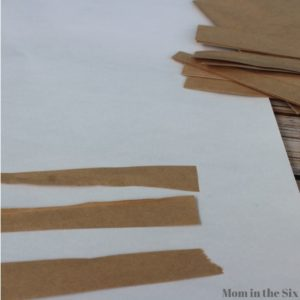 step 2 cut strips